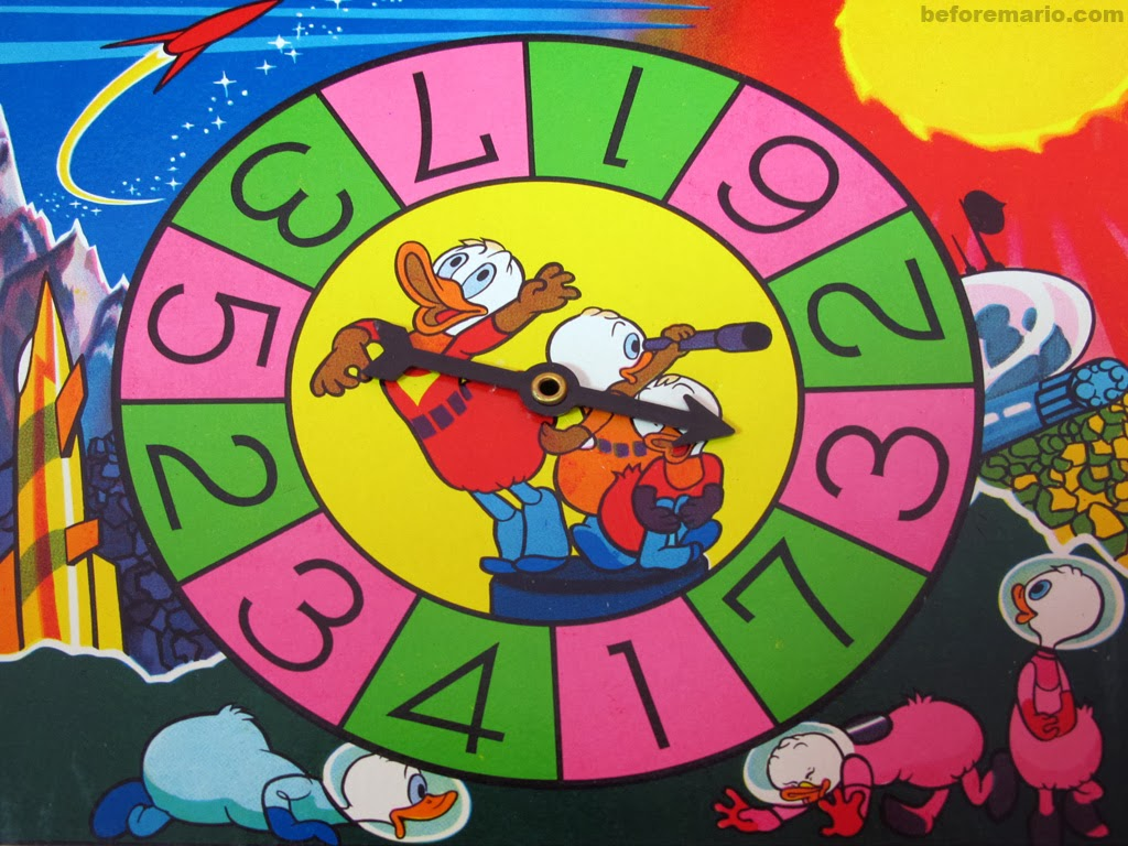 Game board colors - As With Most Of These Board Games The Players Do Not Advance By A Trow Of The Dice But By A Spin Of The Wheel