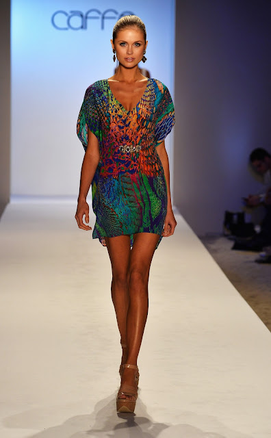 Caffé Swimwear presents Spring/Summer 2014 collection at MBFWSWIM