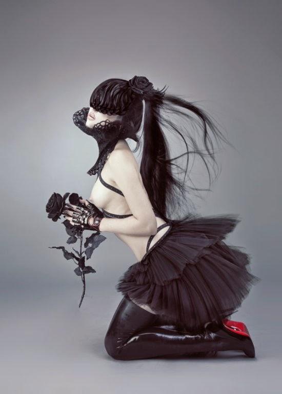 Natalie Shau fotografia ilustrações photoshop fashion surreal sensual nsfw