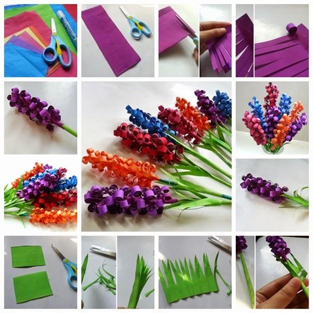 Kids Origami flowers