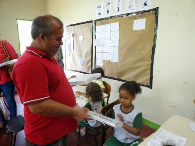 Ao contrario de Itacaré, Prefeito de Itagibá investe alto na educação do município.