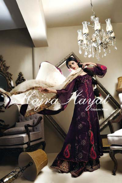 Hajra Hayat bridal exclusive dresses For Women 2013
