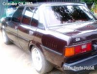 Dijual - Toyota Corolla DX 1983, iklan baris mobil gratis