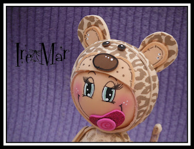 Fofucha bebe de leopardo