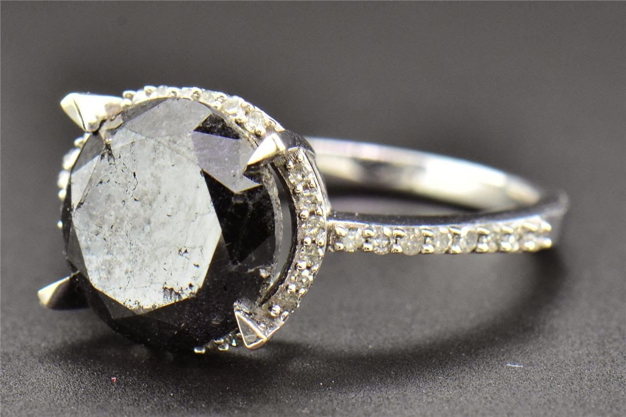 Black Diamond Engagement Rings Meanings Home Design Interior