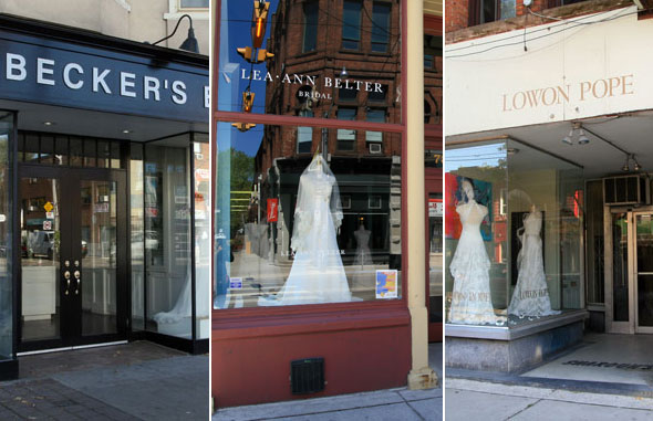 Bridal Gown Shop In