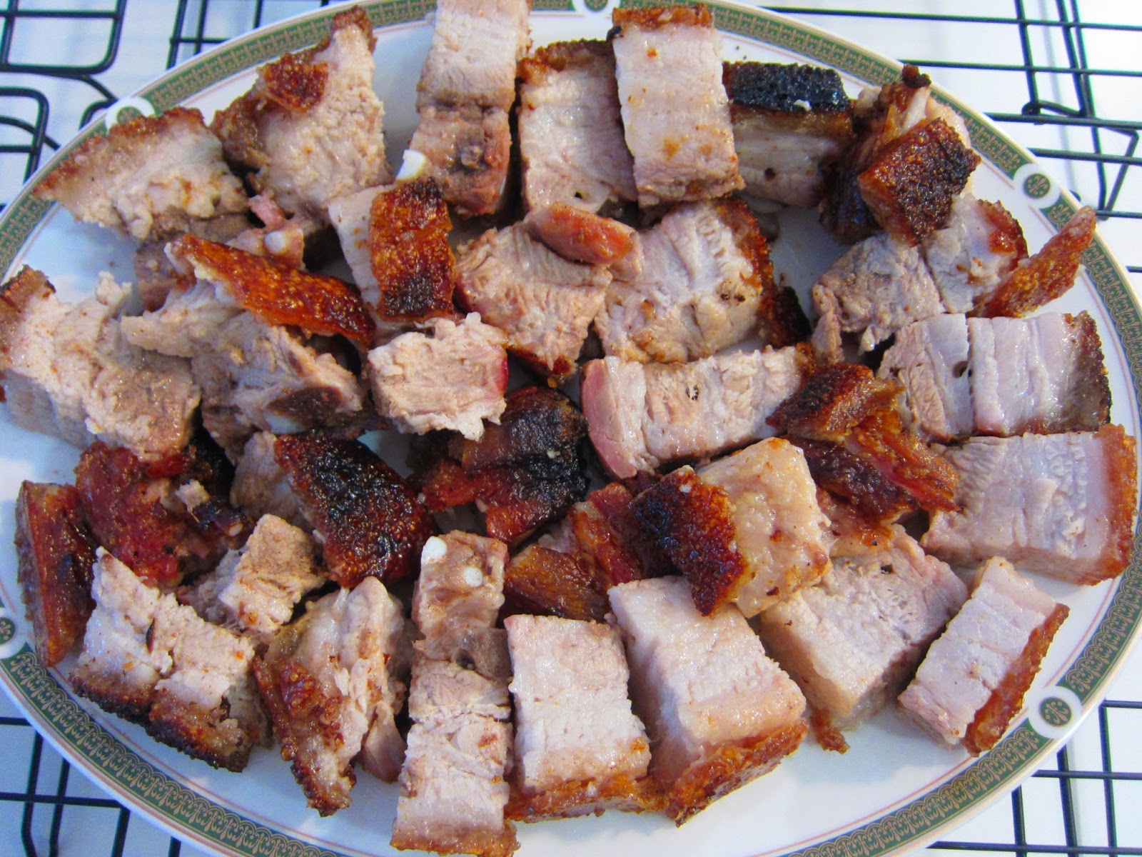 Chinese roast pork whole