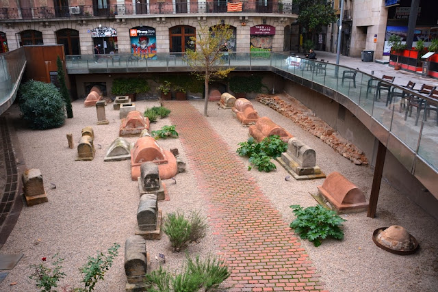 Roman Cemetery Barcelona