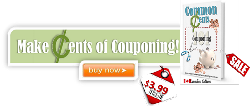 Welcome to Extreme Couponing Canada! Your one stop savings source!