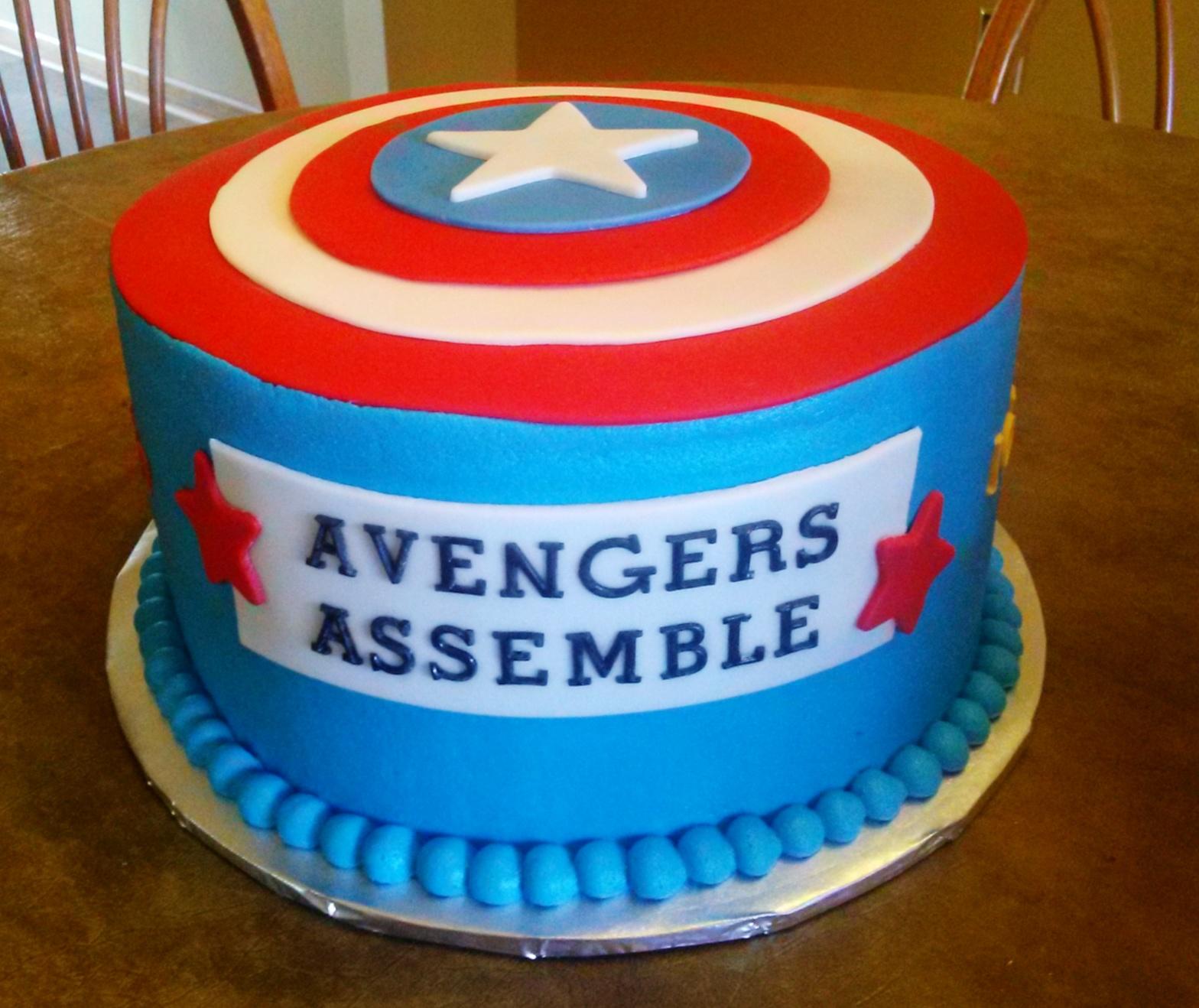 Simply Sweet Avengers Cake