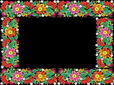 Marcos photoscape plantillas para adornar marcos para photoscape photoshop y gimp flores 22 - Marcos para cuadros grandes ...