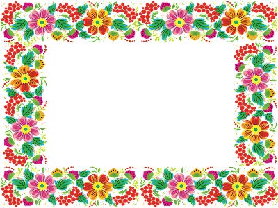 Marcos photoscape plantillas para adornar marcos para photoscape photoshop y gimp flores 22 - Marcos para decorar ...