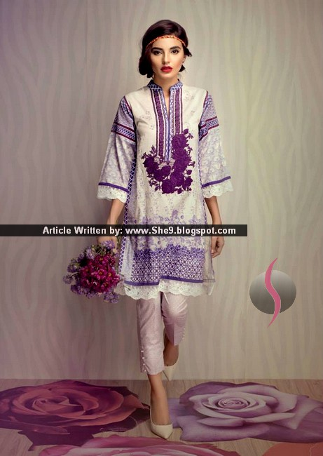 Ethnic by Outfitters Festive 2015 Collection | Luxury Formals for Eid 15 - She9 | Change the ...