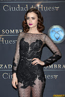 "Lily Collins - ""The Mortal Instruments: City of Bones"" Premiere in Mexico, August 27, 2013"