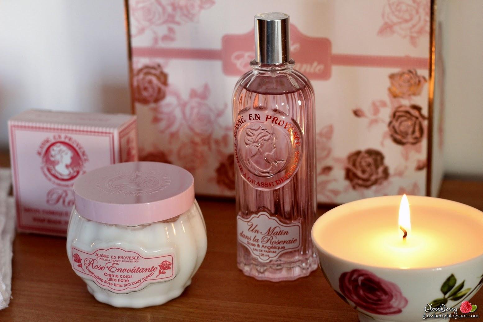 jeanne en provence rose perfume body soap perfume ורדים רוז  ג'ין פרובנס בלוג איפור וטיפוח glossberry גלוסברי ביוטי beauty blog
