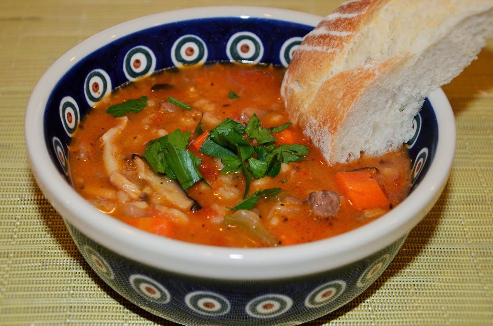 Food Network Mushroom Barley Soup