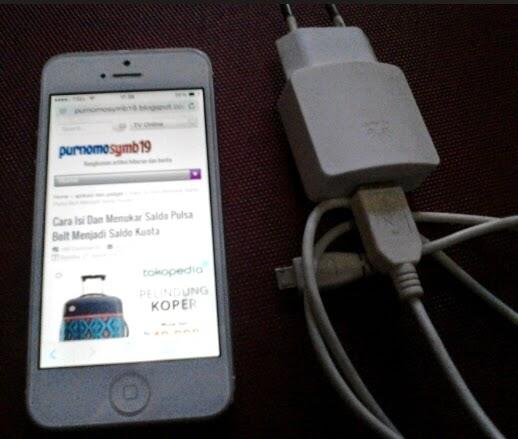 Inilah Bahayanya, Menggunakan Charger Non Ori Pada iPhone