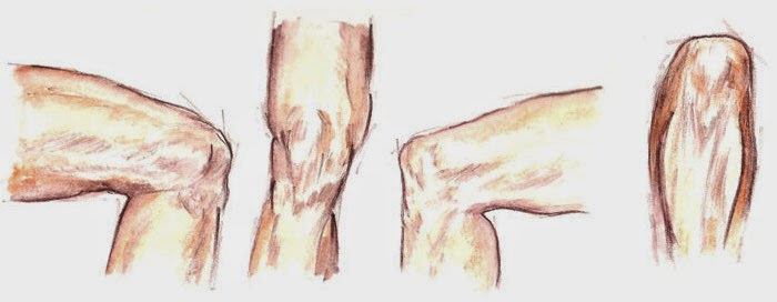 Los dolores en la espalda en el campo de las espátulas el síndrome