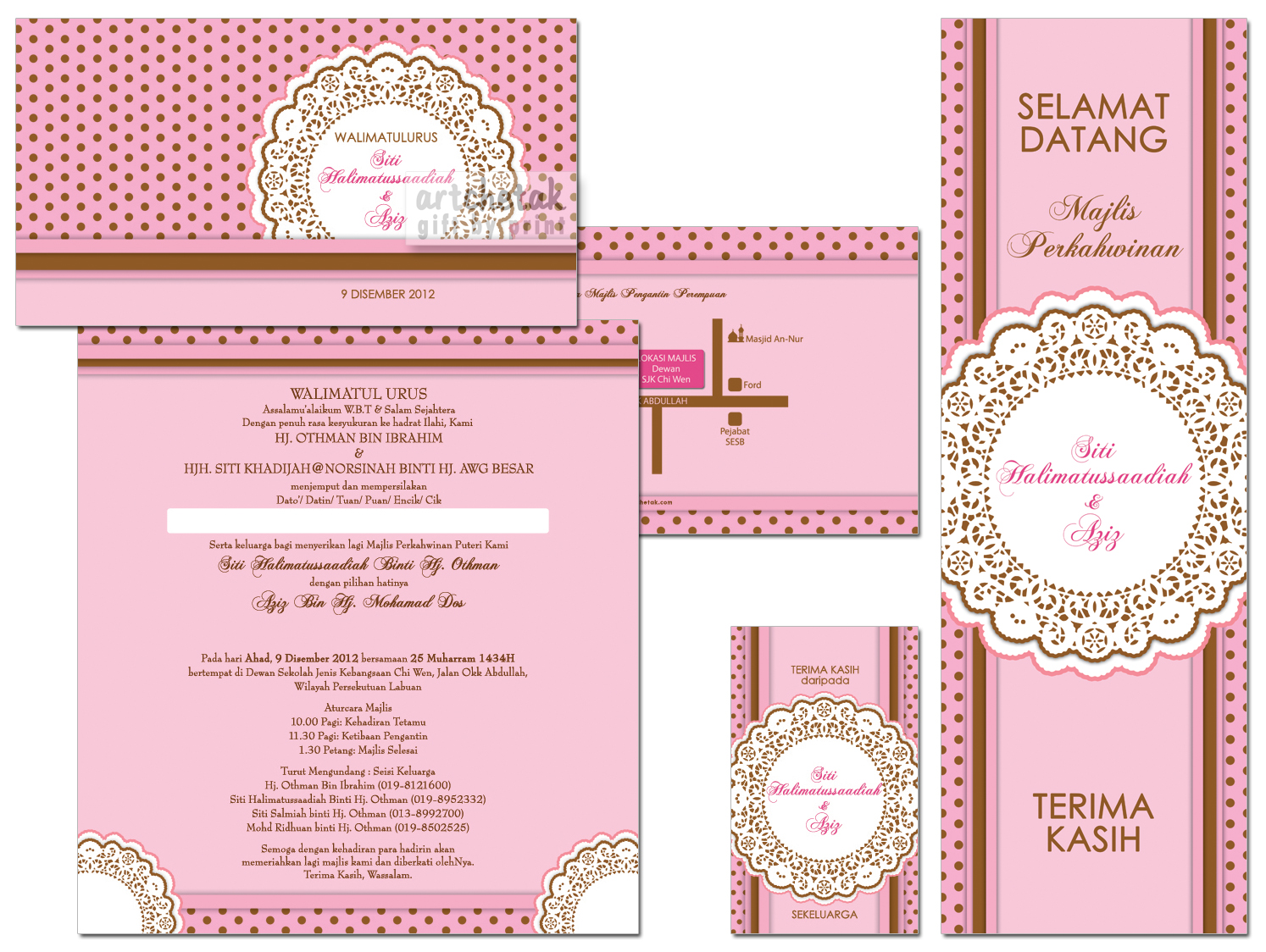 Contoh Invitation Card