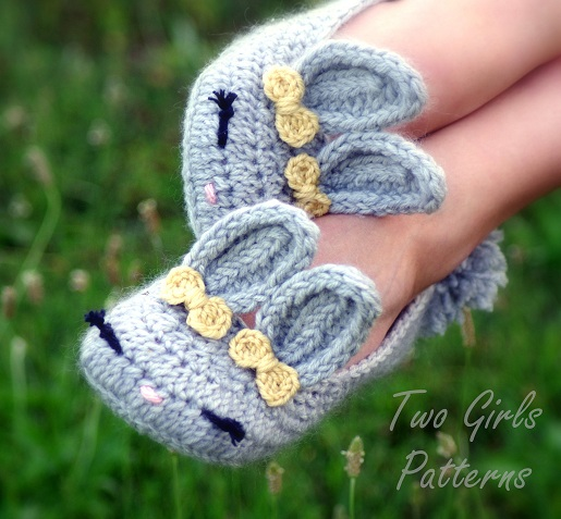 Free Crochet Patterns Bunny Slippers : Crochet Bunny Slippers ~ Drop Dead Cute - Kawaii for Sexy ...