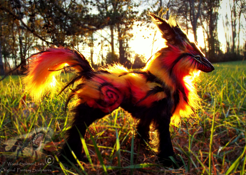 Image of a fantasy type fox creature.