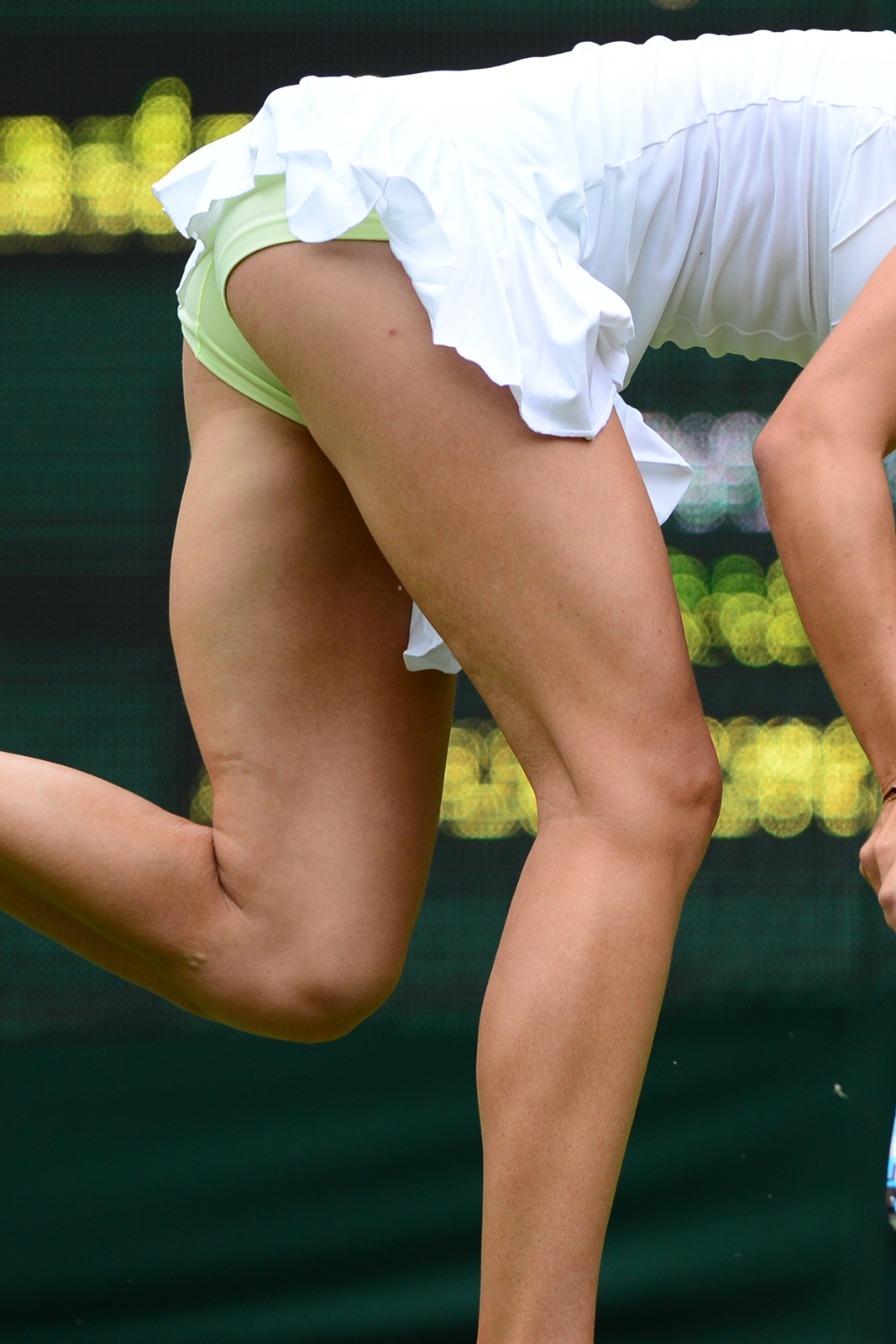 tennis girl skirt pussy cum