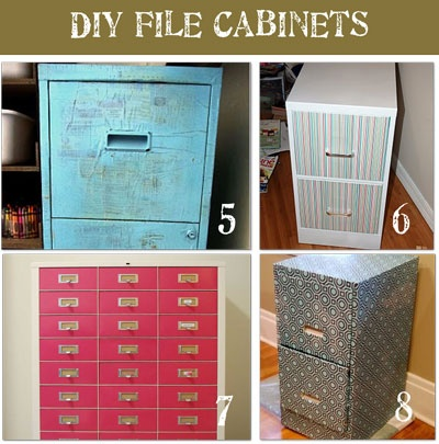 Footsteps in the dirt upcycling is the new recycling part 2 Upcycled metal filing cabinet