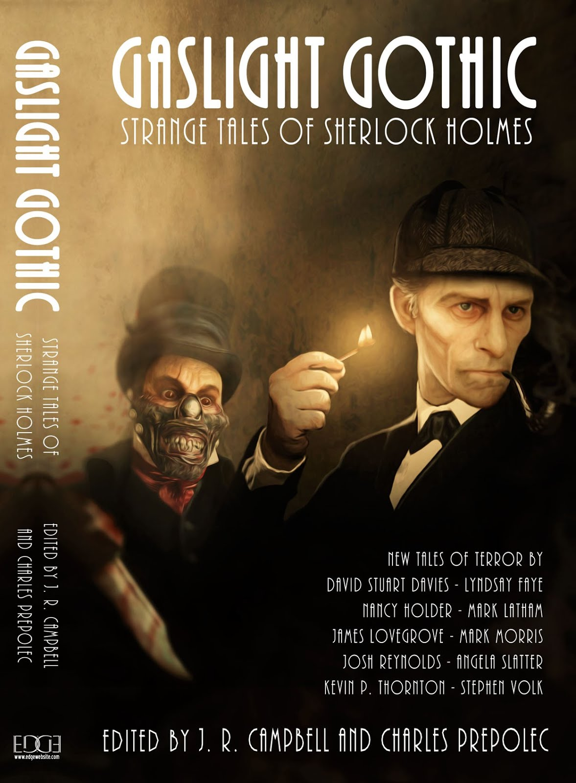 Gaslight Gothic: Strange Tales of Sherlock Holmes - New Anthology