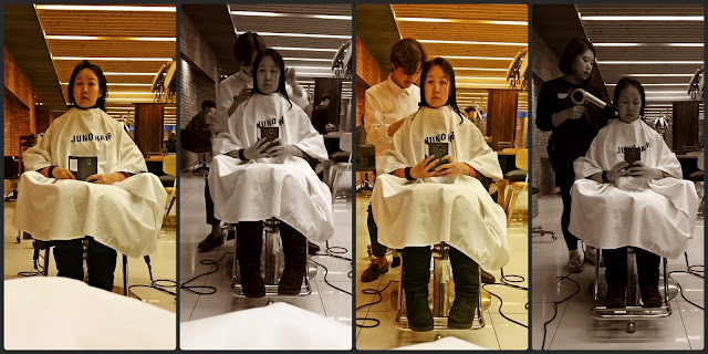 Myeongdong Juno Hair Salon (준오헤어) for hair cut + perm | www.meheartseoul.blogspot.com