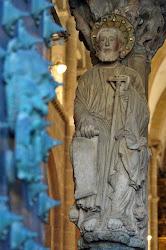 El Hijo del Trueno - Apóstol Santiago - Pórtico de la Gloria