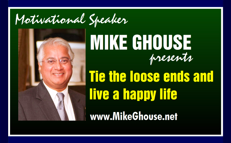 Tie the loose ends of life and live a happier life