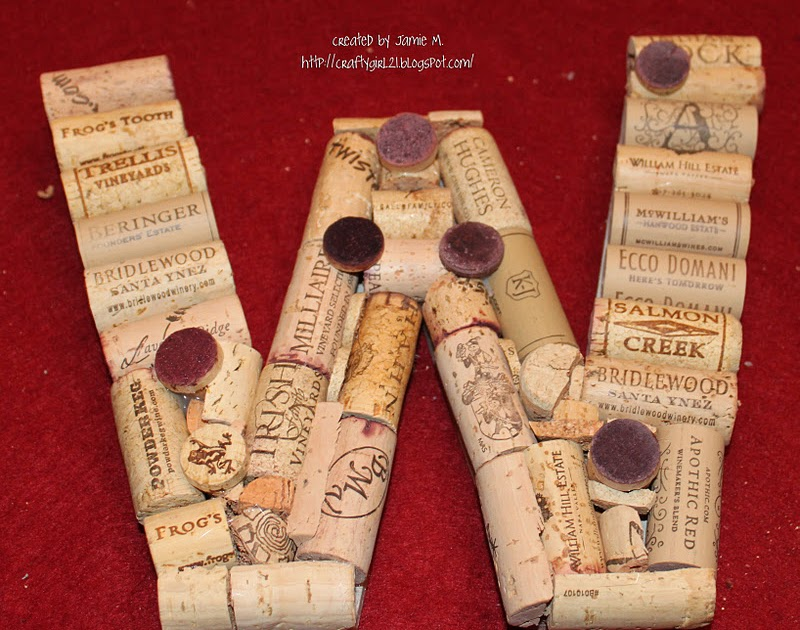 Crafty Girl 21 Wine Cork Gifts