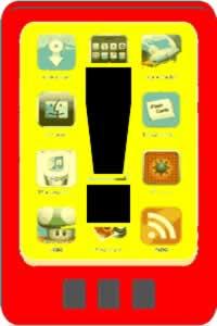 Aviso sobre aplicativos para Samartphone