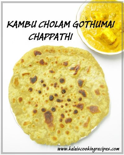 millet chapathi
