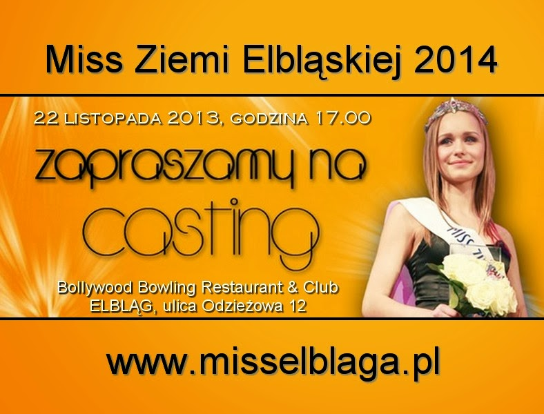 Miss Ziemi Elbląskiej 2014