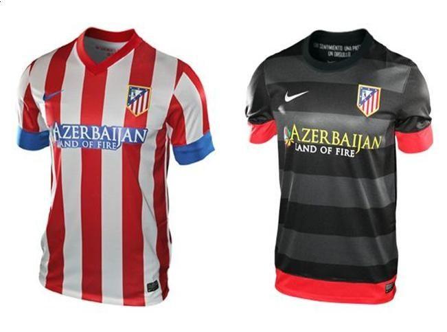 014662fd53f9b Bonita Casaca  Camiseta Atlético Madrid Temporada 2013 14