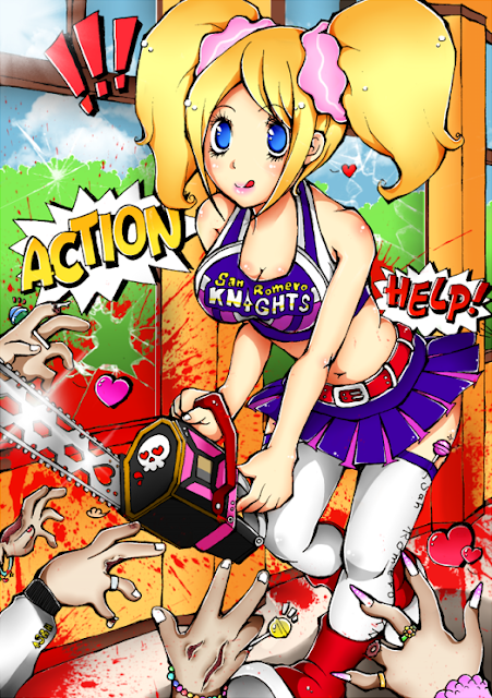 Lollipop Chainsaw por yusuyoshi-sano