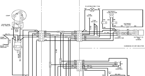 Maytag    Refrigerator       wiring       diagram      Online Service Manual