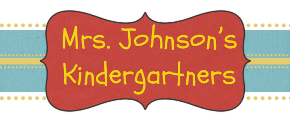 Mrs. Johnson's Kindergartners