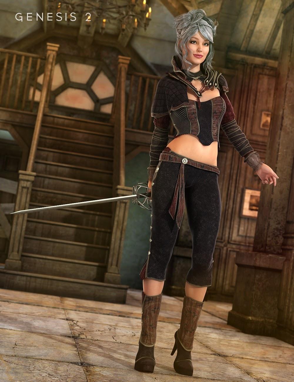Epée Dancer pour Genesis 2 Femme