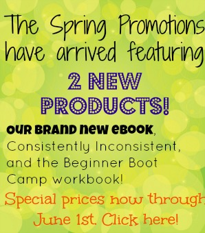 Spring Promotions!