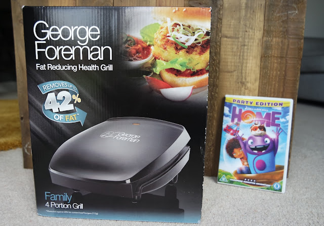 Birthday Presents - George Foreman Grill & DVD