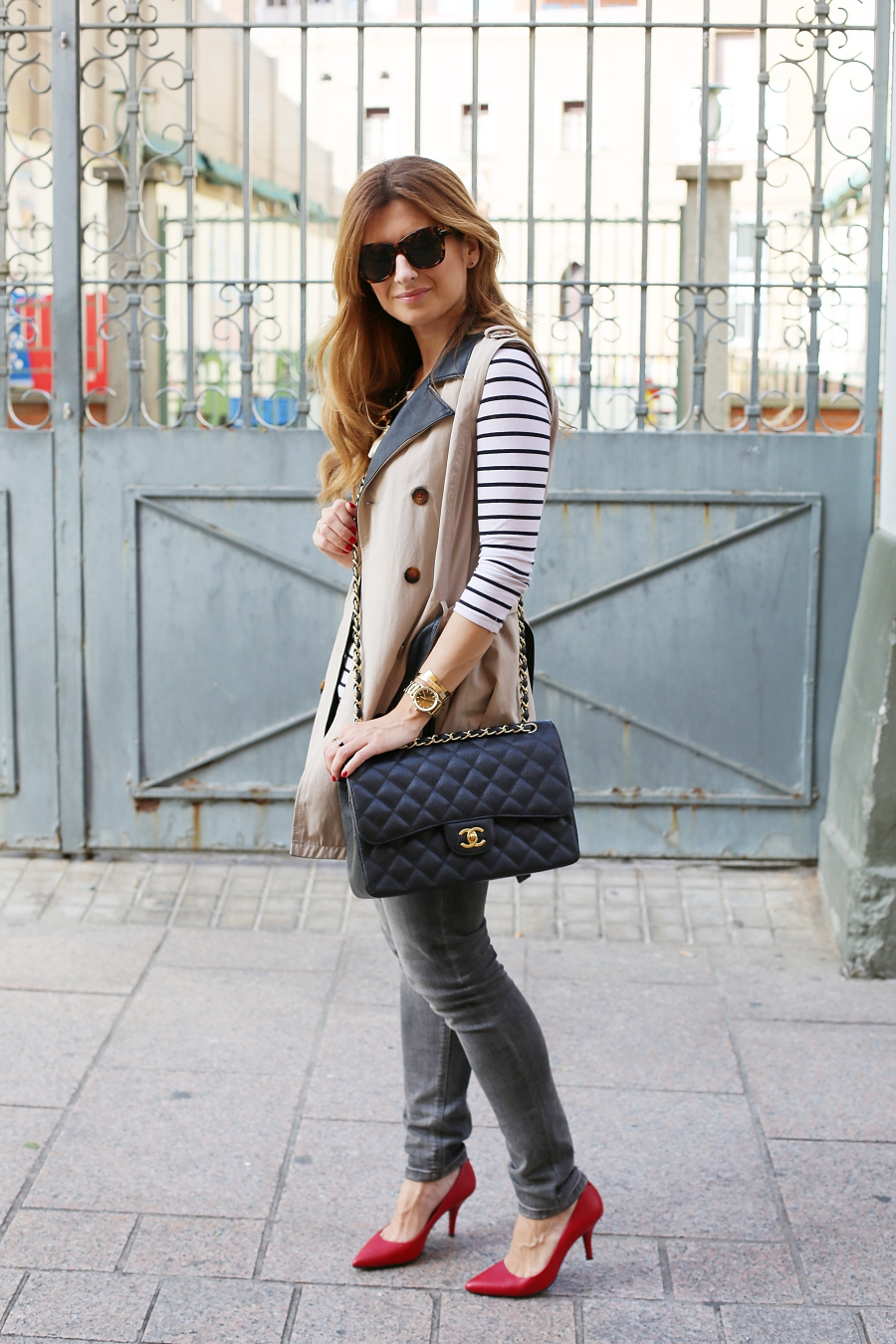 Look with trench