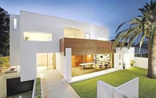 Desain Rumah Mewah 1 Lantai Minimalis 3