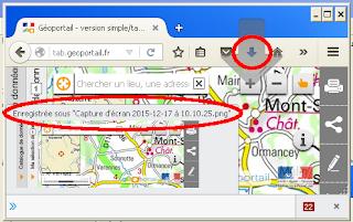 Copie d'écran réalisée avec la barre de développement de Firefox