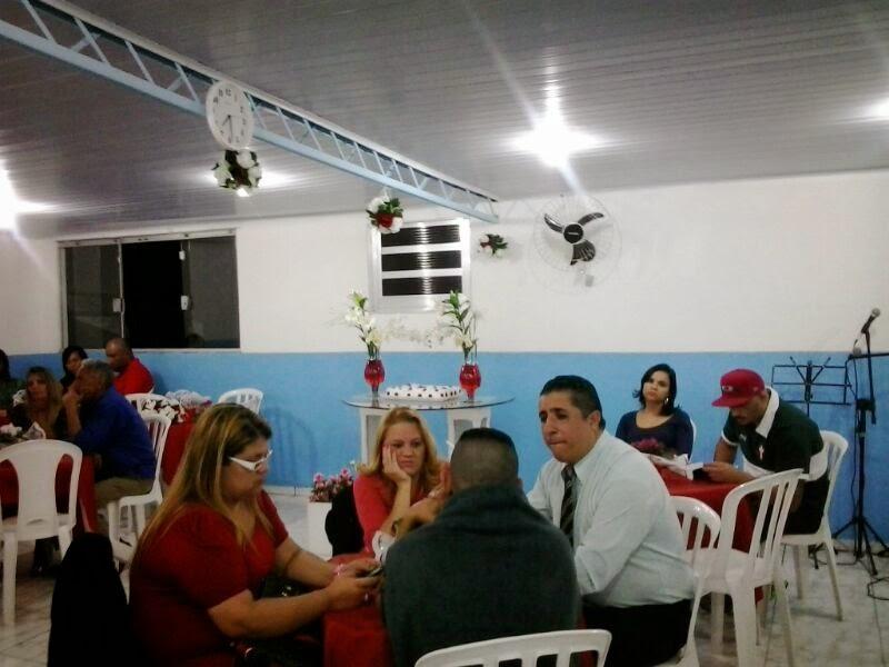 Ministrando no Jantar de Casais