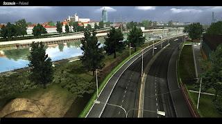 Euro truck simulator 2 Szczecin1