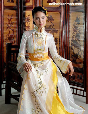 free holiday to vietnam by premium beautiful adibah traditional dress