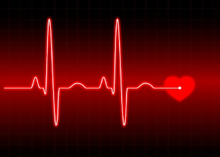 heart beat graphic