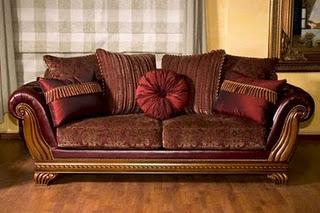 Modern wooden leather sofa designs An Interior Design